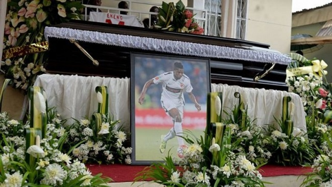 Agent of late Cameroonian footballer says FIFA should train players to treat heart issues
