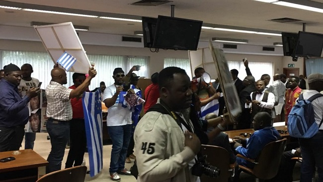 Southern Cameroons Brussels panel humiliates Minister Laurent Esso delegation
