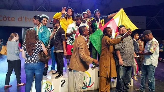 French Cameroun athletes are back in the country after grabbing twenty-one medals