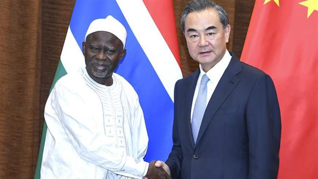 China offers aid to new friend Gambia