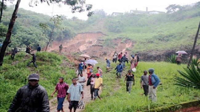 Southern Cameroons: Landslide kills one in Lebialem County