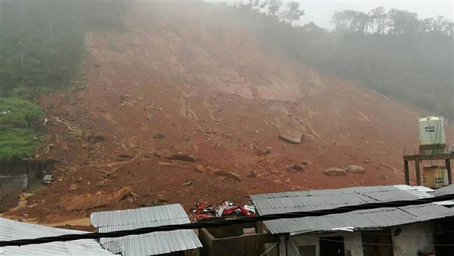 Sierra Leone mudslides leave 600 missing
