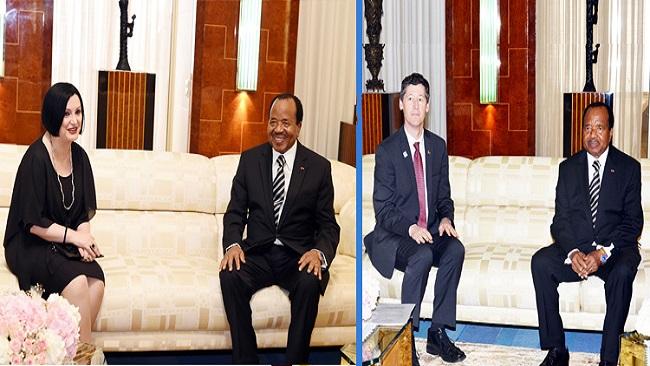 Yaounde: Biya bids farewell to Western diplomats
