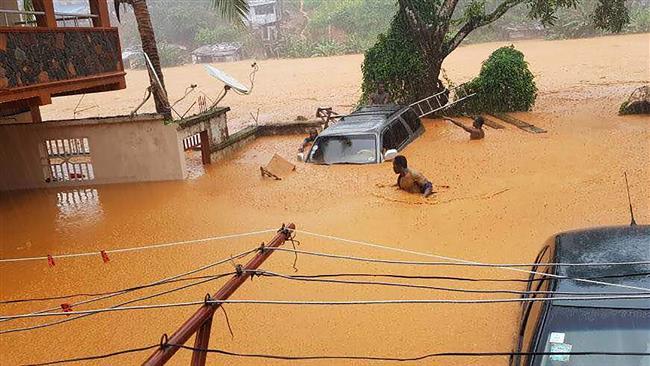 400 bodies recovered from Sierra Leone landslide