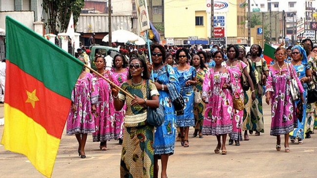 French Cameroun women wants greater representation in political sphere