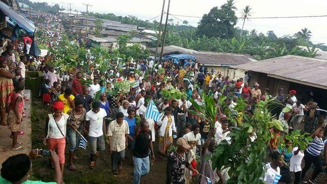 Southern Cameroons: Francophone security forces opened fire on Anglophone protesters