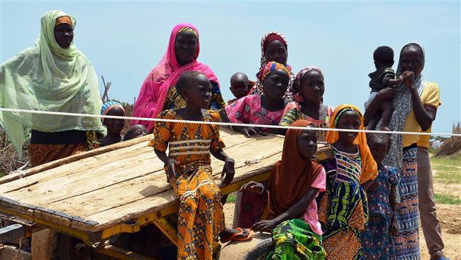 Nigeria: Boko Haram displaced protest poor conditions