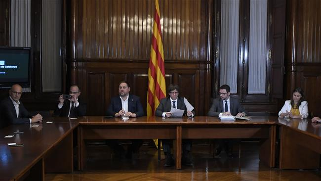 Spain suspends Catalonia parliament session on independence
