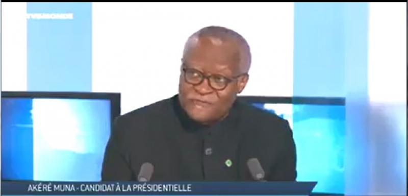 """Akere Muna tells TV5 Monde """"Separatists are what they are because of the mismanagement of the state"""""""