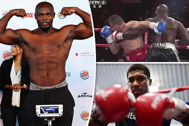 Who is Carlos Takam? Anthony Joshua's opponent