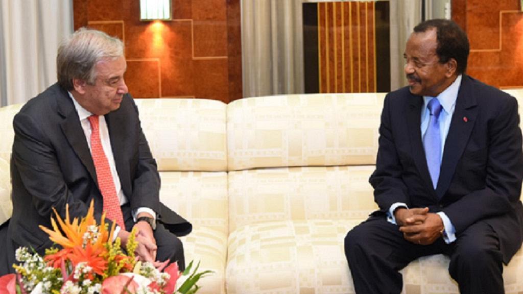 Biya regime mute on details of Guterres meeting