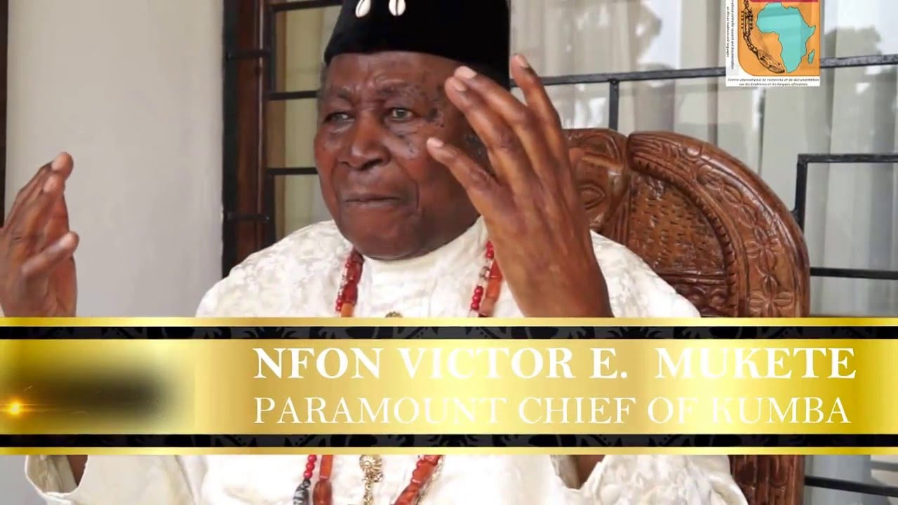 Southern Cameroons: What has happened to Chief V.E.Mukete?