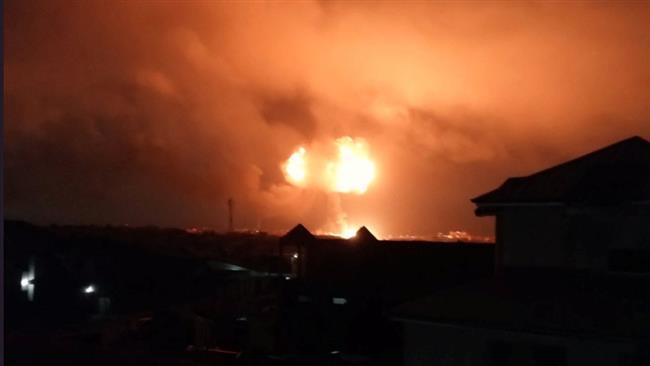 Huge gas blast rocks Ghana's capital, leaves casualties