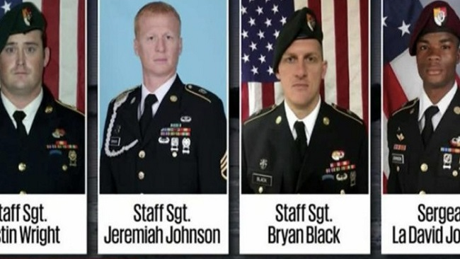 """CNN says 4 US troops killed in Niger would have occurred with """"a potential complicity"""""""