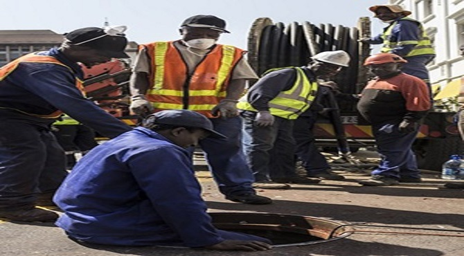 Cameroonians caught in Johannesburg cable theft raids