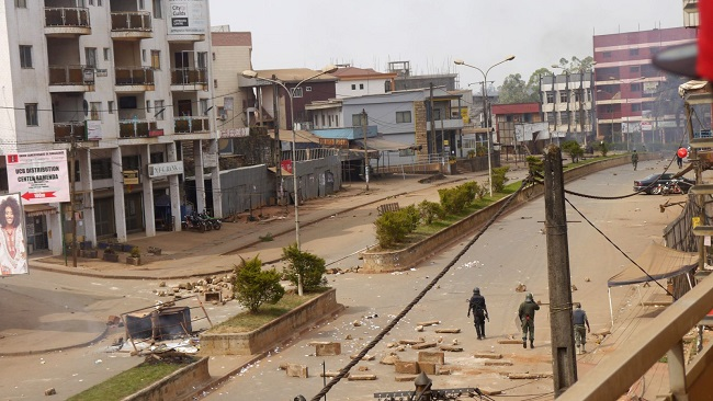 Biya regime disrupting the internet in Southern Cameroons regions to stifle revolution