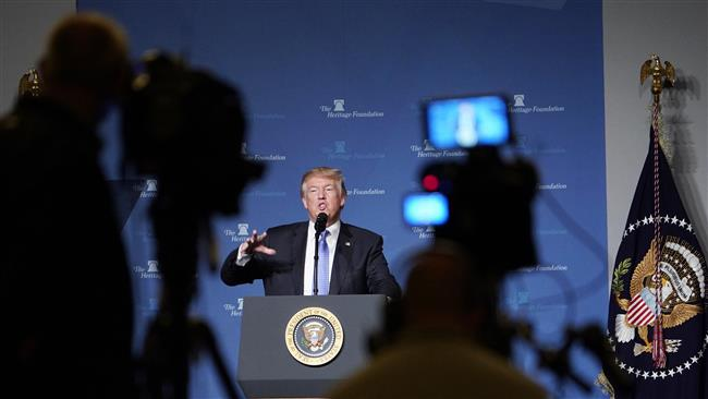Trump calls journalists 'fiction writers' in latest media attack on 'fake news'