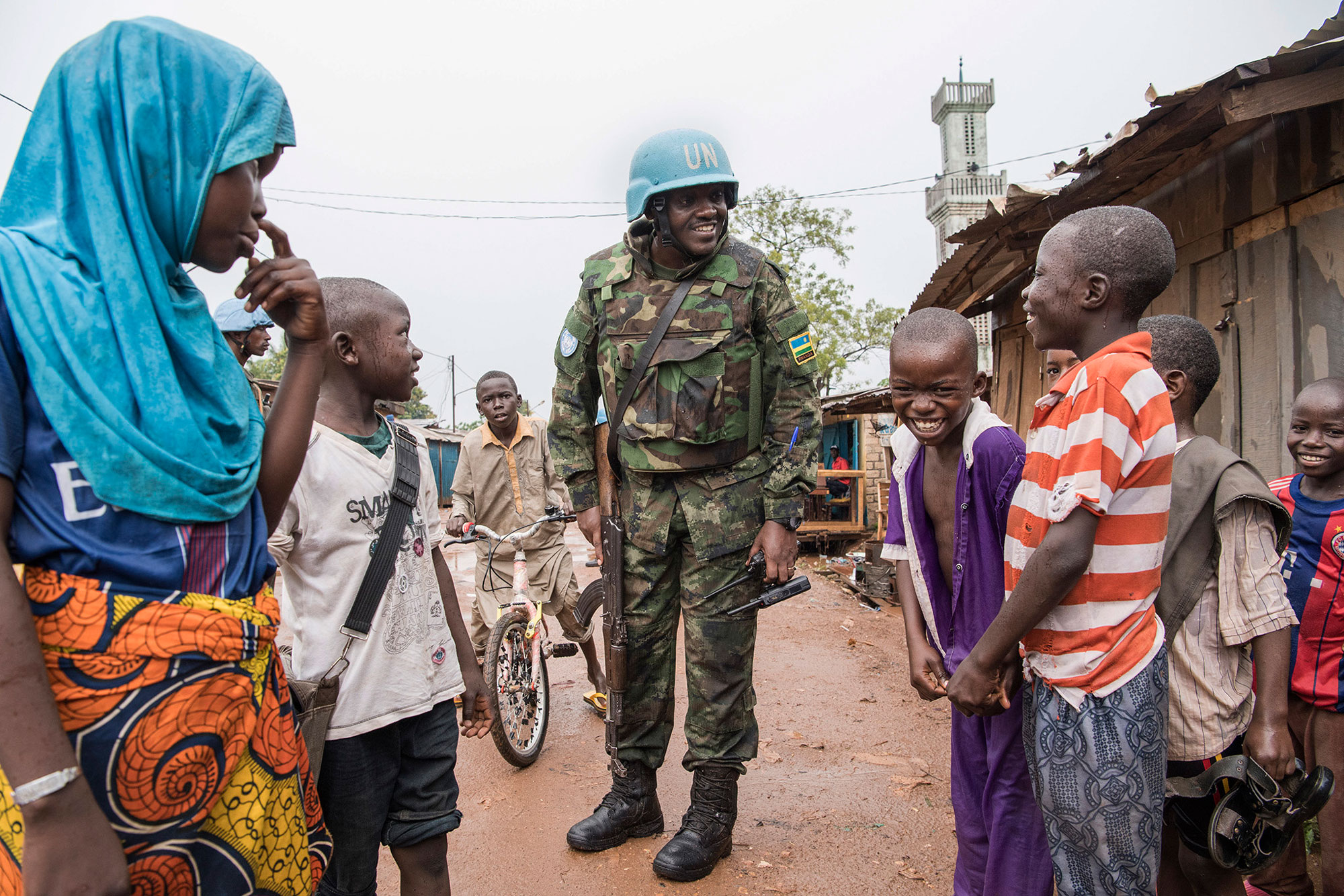 Central African Republic's message to UN: 'The only thing we want is peace'