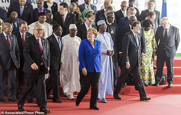 The Latest on the European Union-African Union summit
