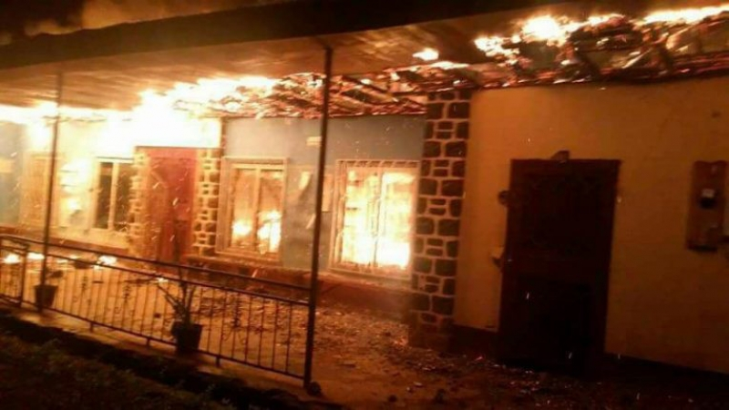 Ambazonia Crisis: Fire sweeps through Batibo Court of First Instance