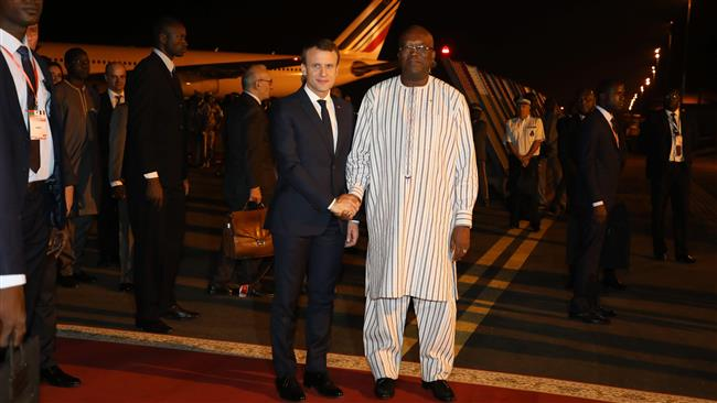 Burkina Faso attack hurts 3 as Macron begins Africa tour