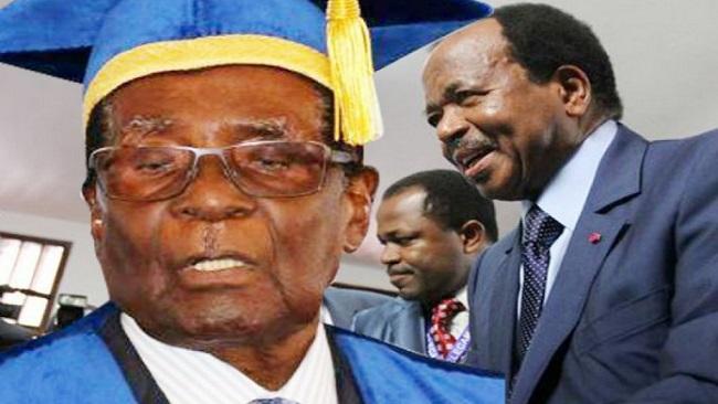 Biya, Mugabe, Museveni and the stench of White hypocrisy