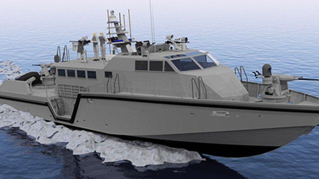 Nigerian Navy receives 20 patrol boats