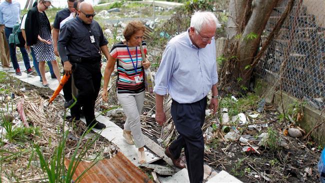 US politics: Sanders' measures indicate possible 2020 run