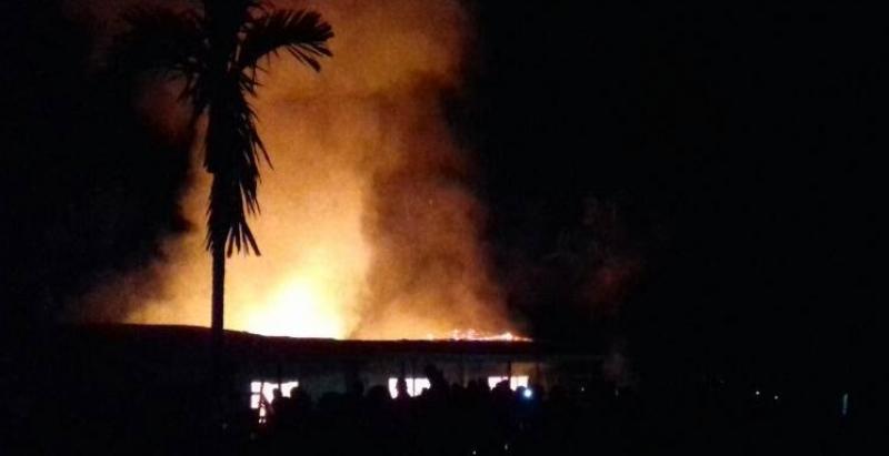 Ambazonia: Fire ravages Saint Pius College in Ekondo Titi County