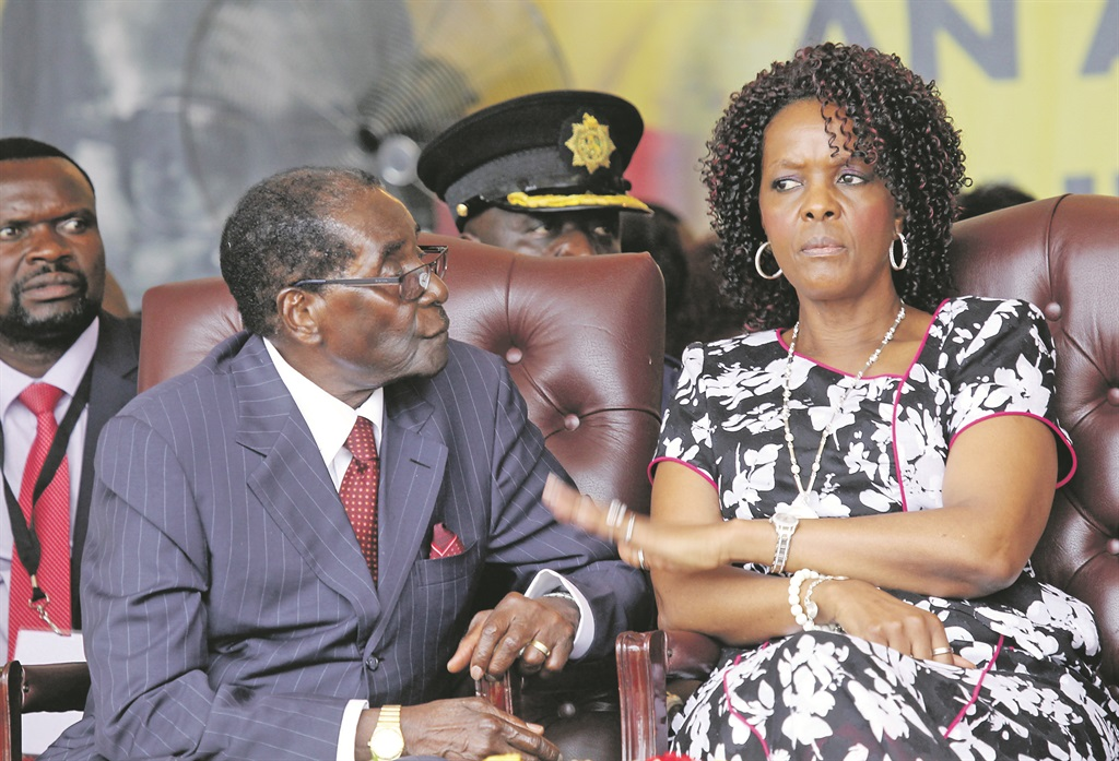 From Grace to Grass: South Africa to arrest wife of Zimbabwe's Mugabe