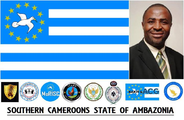 Breaking: Ambazonian interim Head of State Sisiku Ayuk Tabe in the UK