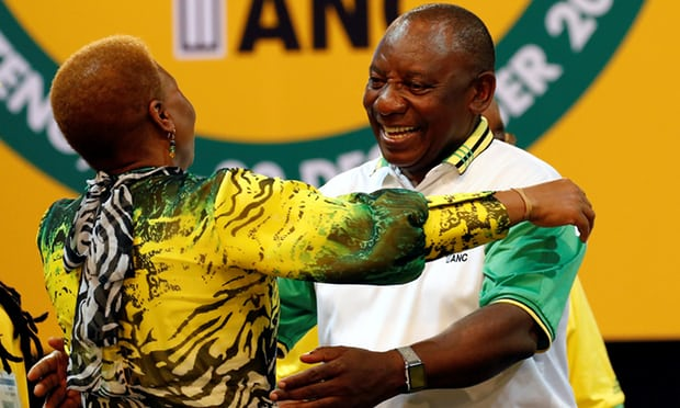 South African Deputy President elected leader of the ruling ANC
