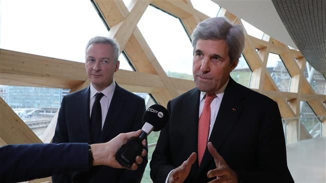 Former US Secretary of State John Kerry says US absence at Paris summit a 'disgrace'