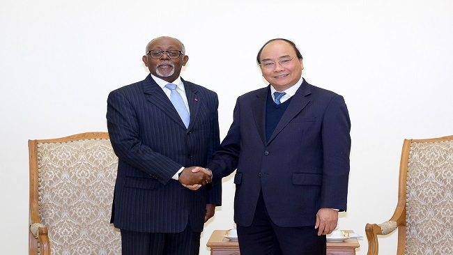 Vietnamese Prime Minister Nguyen Xuan Phuc calls on Biya regime to facilitate investment projects