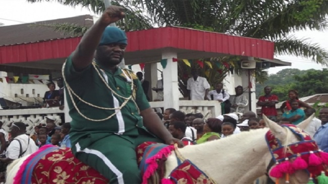 Race for the Victoria Chieftaincy stool takes a different twist