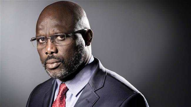 Mister George is President of Liberia