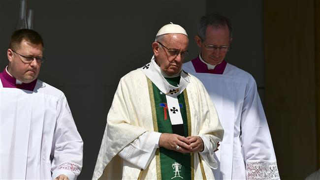 Pope says in 'pain and shame' over church sex scandal in Chile