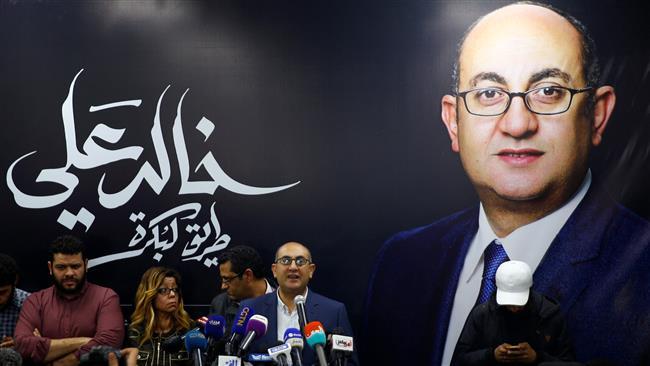 Egypt's last main opposition candidate abandons presidential bid