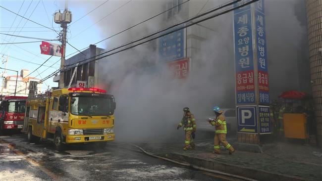 41 dead in South Korea hospital blaze