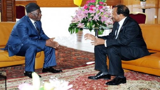 SDF Congress: Biya comes to Fru Ndi's rescue