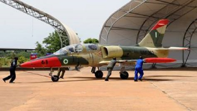 Nigeria Air Force chief relocates to Yobe State in search for Dapchi girls