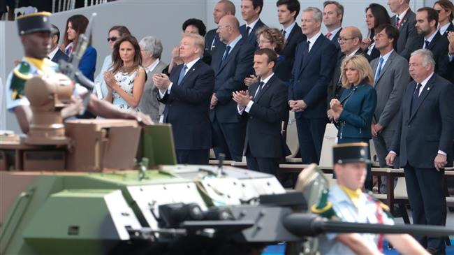 Critics condemn Trump's plan for military parade in US capital