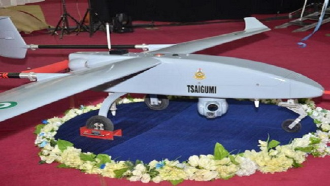 Nigerian Air Force unveils new indigenous UAV