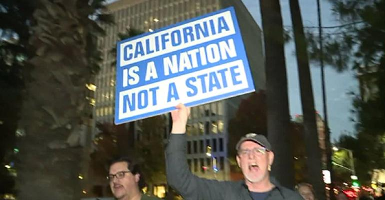 'It's time for a divorce': Calexit supporters relaunch California independence bid from the US