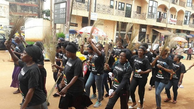 Biya regime releases women arrested over protesting Anglophone crisis
