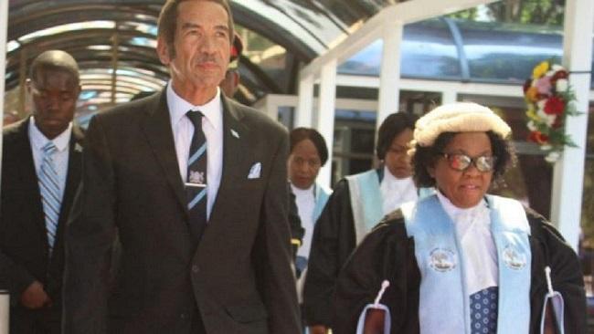 Botswana president Ian Khama steps down after end of tenure