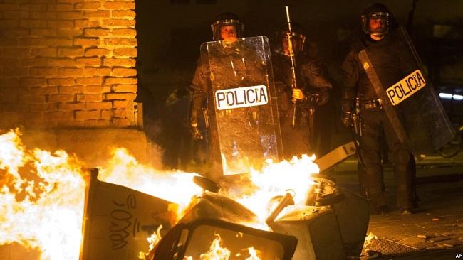 African migrant death sparks violent protest in Madrid