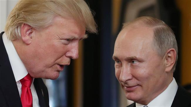 Trump calls Putin to congratulate him on re-election victory