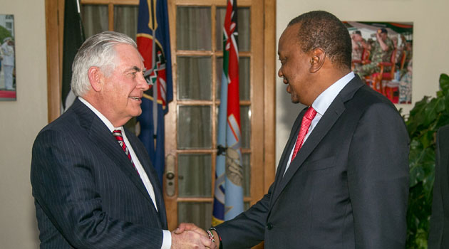 US Secretary of State cancels Saturday activities in Kenya due to low health
