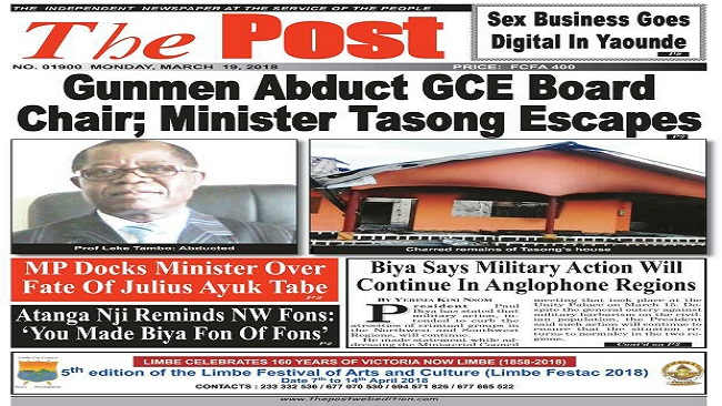 Southern Cameroons Crisis: At your own risk